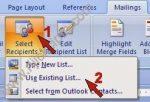 <b>Cetak Mail Merge | Satu file Surat untuk Banyak tujuan</b>